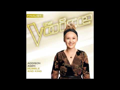 Addison Agen - Humble And Kind - Studio Version - The Voice 13