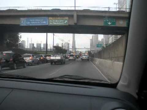 SItes and Sounds of Sao Paulo City Driving