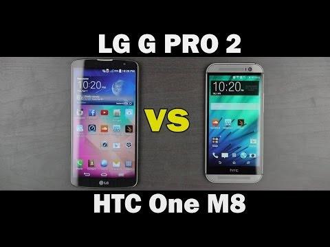 LG G Pro 2 vs HTC One M8