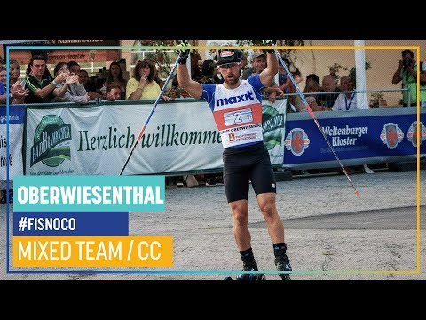 Mixed Team Event Cross-Country Race in Oberwiesenthal | FIS Nordic Combined