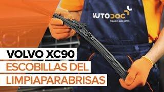 Cómo cambiar Escobillas del limpiaparabrisas delantero en VOLVO XC90 1 INSTRUCCIÓN | AUTODOC