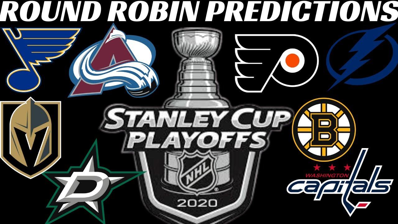 2020 NHL Playoffs Predictions - Round Robin Tournament