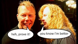 5 things in which Megadeth did BETTER than Metallica | Andriy Vasylenko