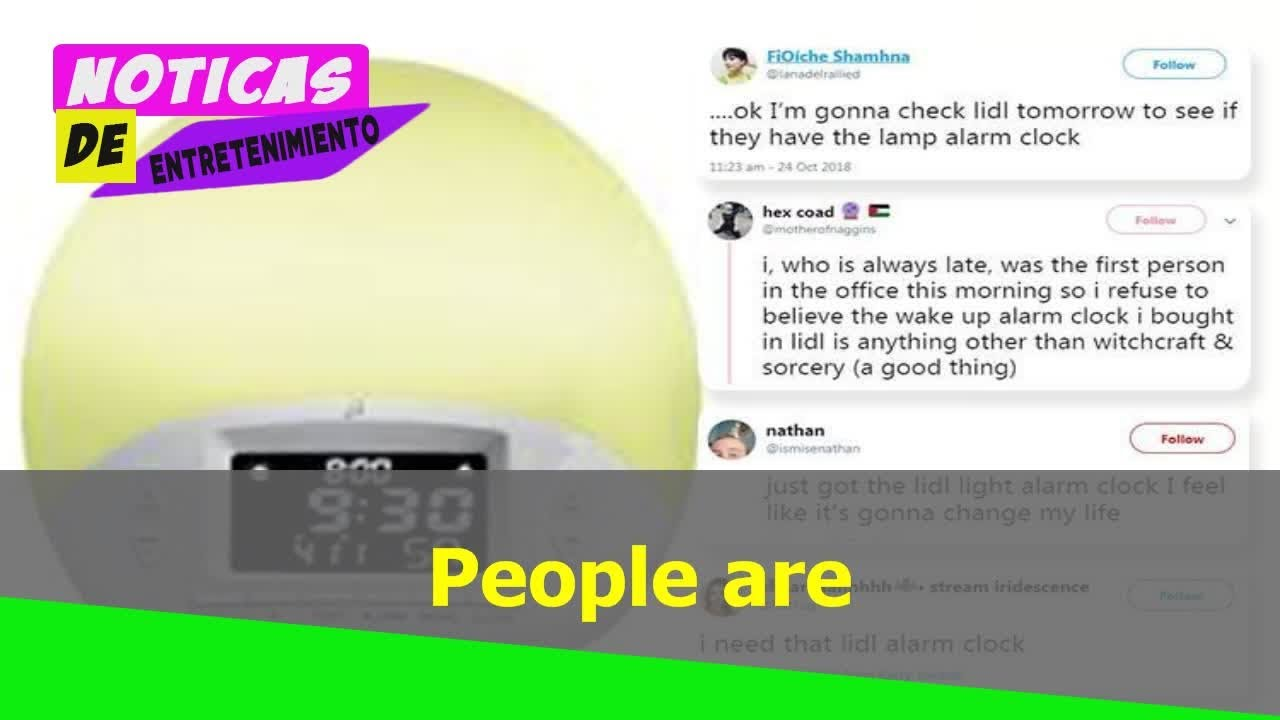 6d808a5bd62 People are going wild over Lidl s £26.99 wake-up light… which is £170  cheaper than other versions