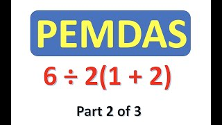 PEMDAS Order of Operations 2
