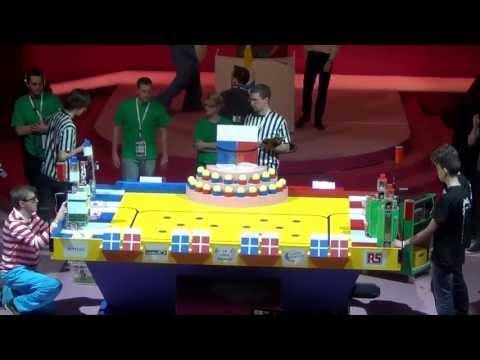 2013 - Université d'Angers vs OLEG - Coupe de France de robotique 2013