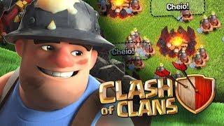 Mineiro uma das melhores tropas do centro de vila nível 10! - Clash of Clans