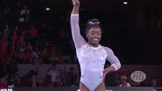 2019 Artistic Worlds, Stuttgart (GER) –  Simone BILES (USA), Floor Exercise All-around final