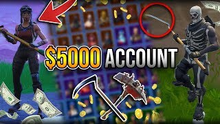 The $5000 Fortnite Account