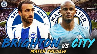 Brighton - Manchester City Premier League Maçı | ş