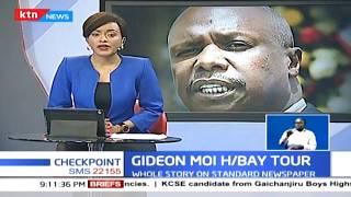 Gideon Moi tours Homa Bay County