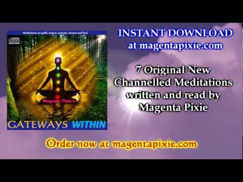 """Gateways Within"" - $1.99 MP3 Guided Meditations * INSTANT DOWNLOAD"