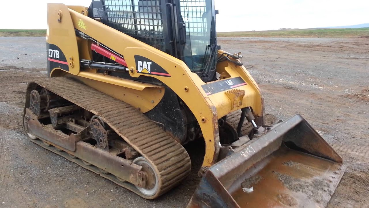 cat caterpillar 277b cab heat air quick attach youtube rh youtube com Cat 277 Attachments Cat 277B Specs