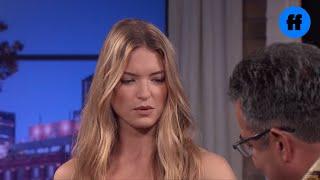 Martha Hunt and Jourdan Dunn Play with Snakes | Movie Night with Karlie Kloss | Freeform