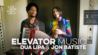 Elevator Music With Jon Batiste & Dua Lipa