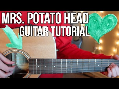 Mrs. Potato Head - Melanie Martinez EASY GUITAR TUTORIAL