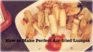 Perfect Air-fried Lumpia | Habor Air Fryer Review & Giveaway