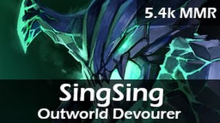 437: SingSing as Outworld Devourer Mid ft. Insane, BANDOLERO - 5.4k MMR Ranked Gameplay - 20150516