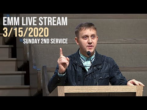 Slavic Church Emmanuel 2 out of 6 Service 3/15/2020