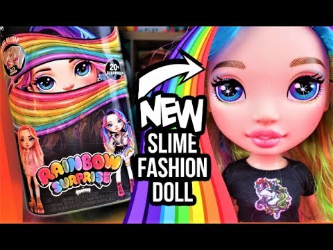 Poopsie Slime Rainbow Surprise Fashion Doll Rainbow Dream with DIY Slime Clothes