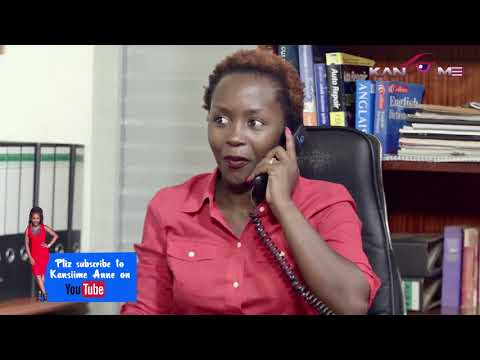 Kansiime the new boss. Kansiime Anne. African comedy.