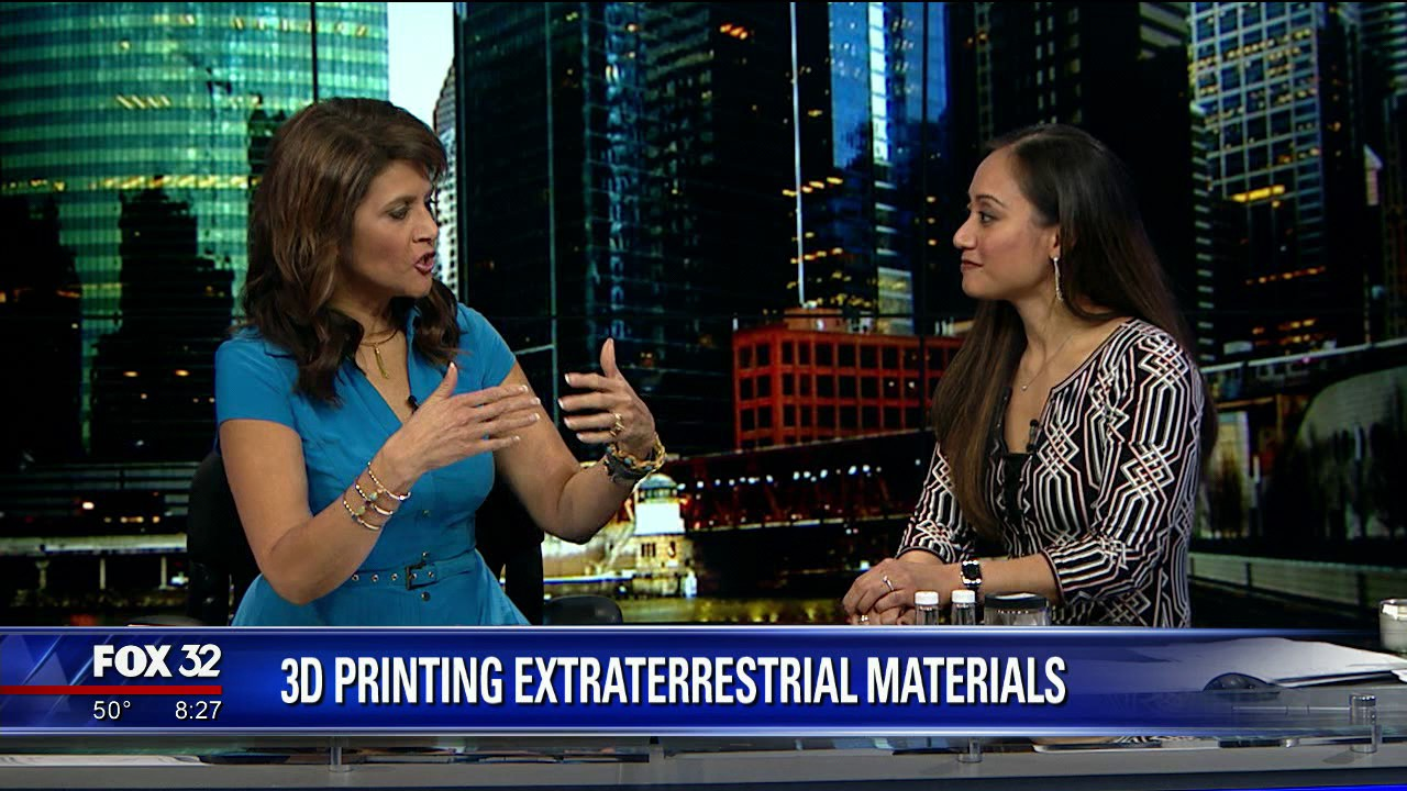 3D-Printing Extraterrestrial Materials