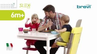 Brevi SLEX EVO: las sillas para comer
