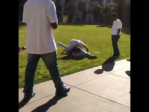 Downtown Oakland fight