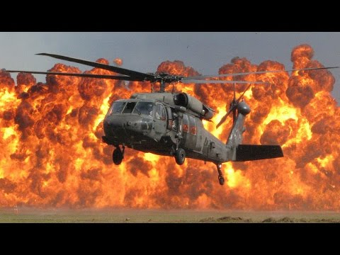Black Hawk Helicopter (UH-60) Low (Flo Rida ft. T-Pain)
