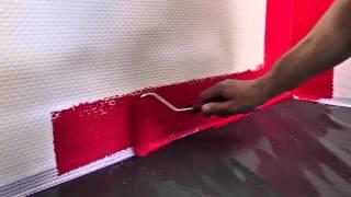 Фарбування шпалер фарбою Sniezka Nature(У навчальному фільмі детально описано процес підготовки шпалер та їх фарбування кольоровою фарбою Sniezka..., 2015-01-22T15:34:50.000Z)