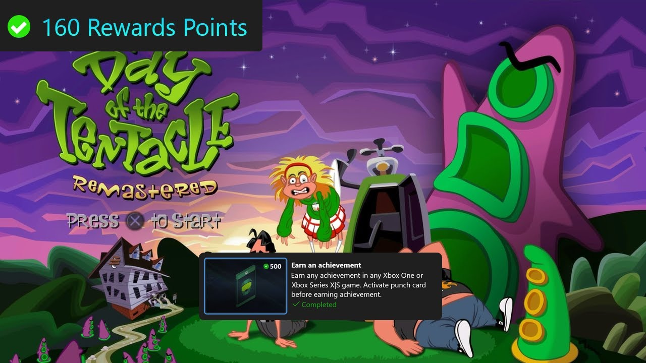 Microsoft Rewards Weekly Set Guide, Earn 3 Achievements - Day of the Tentacle Remastered Part 20