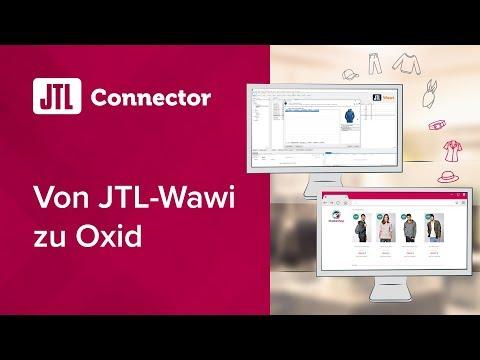 JTL-Connector: Von JTL-Wawi Zu Oxid