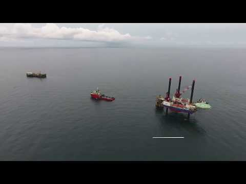 Subsea Cable Laying Installation (Platform to Power Barge)