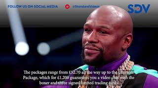 Boxer Floyd Mayweather charging Ksh 160,000 for online meet and greets