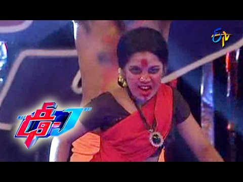 Vilaya Pralaya Moorthy Song - Varshini Performance - 4 - Dhee Juniors - ETV Telugu