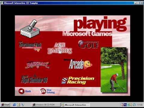 Windows 98 [4 10 1998] Interactive CD Sampler