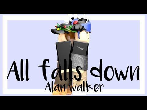 All falls down || Alan walker || Roblox music video