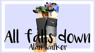 Download Lagu All falls down || Alan walker || Roblox music video Mp3