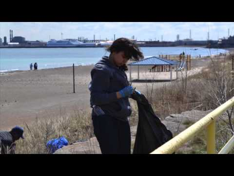 Jeorse Beach Clean Up in East Chicago