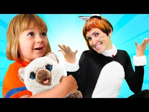 Бьянка и кошка - Игры для детей с Машей Капуки. Привет, Бьянка!