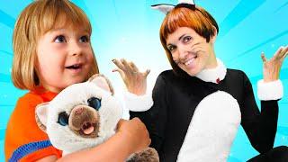 Бьянка и котенок - Игры для детей с Машей Капуки. Привет, Бьянка!