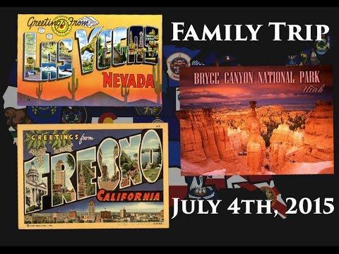 Family Trip   Fresno to Vegas to Bryce Canyon