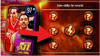 Storm Chasers Riddle SOLVED!! (NBA Live Mobile)