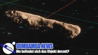 Oumuamua News: Wo befindet sich Oumuamua derzeit?
