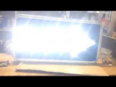 LED Solar traffic  signs