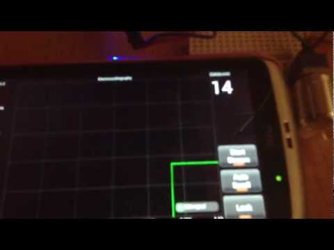 Arduino android bluetooth real time graph test
