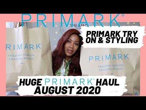HUGE PRIMARK HAUL | NEW IN PRIMARK |AUGUST 2020 | PRIMARK TRY ON HAUL FT ITALO JEWELRY Raquel Sewell