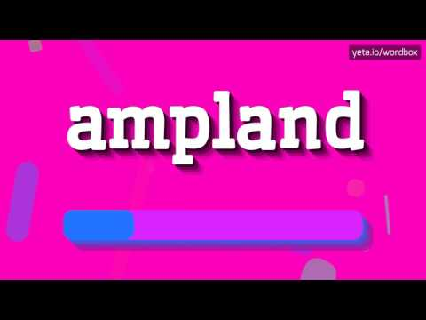 AMPLAND - HOW TO PRONOUNCE IT!?