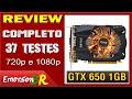 Análise - Placa de Vídeo Zotac Nvidia GeForce GTX 650 1GB DDR5 128bits (37 testes) - EmersonBR