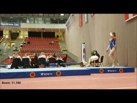 TGW Austrian Team Open 2018 Gymnastics - Turnen | Pleun Reinders (12)